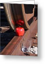 Apple Juice Railroad 4 Greeting Card