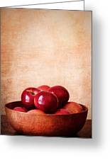 Apples In Color Greeting Card