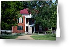 Appomattox County Court House 1 Greeting Card by Teresa Mucha