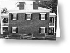 Appomattox Courthouse Greeting Card by Teresa Mucha