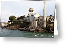 Approaching Alcatraz Greeting Card