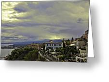 Approaching Storm - Sicily Greeting Card