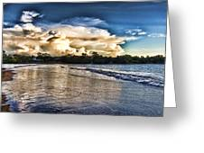 Approaching Storm Clouds Greeting Card