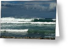 Approaching Storm In Maui Greeting Card