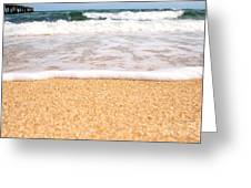 Approaching Wave Greeting Card