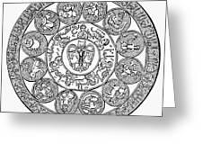 Arabic Zodiac Greeting Card