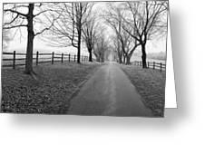 Araby Farm Lane Greeting Card