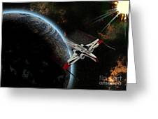 10117 Arc-170 Starfighter Greeting Card