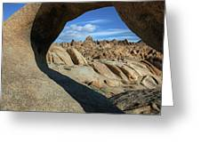 Arch Alabama Hills Greeting Card