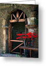 Arch At Mission San Juan Capistrano Greeting Card