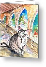 Arch Bishop Of Caterbury Greeting Card