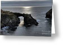 Arch Rock Greeting Card