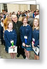 Archbishop Alex Brunett Greeting Card