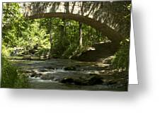 Arched Bridge Greeting Card
