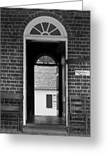 Arched Doors Appomattox Virginia Greeting Card