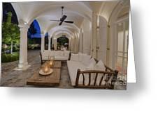 Arched Patio Photograph By Noam Armonn