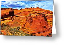 Arches Canyon Greeting Card
