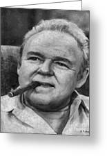 Archie Bunker Greeting Card by Elizabeth Coats