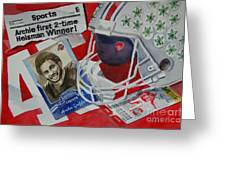 Archie Griffin Greeting Card