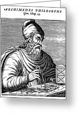Archimedes (287?-212 B.c.) Greeting Card