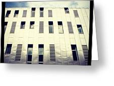 Architects Office, Manchester Greeting Card by Chris Jones