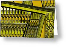 Architectural 122 Greeting Card