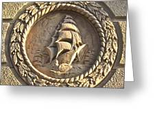 Architectural Detail Ship1 Greeting Card