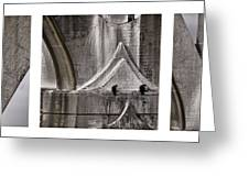 Architectural Detail Triptych Greeting Card