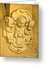 Architectural Ornament Greeting Card
