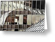 Architectural Reflections Greeting Card