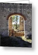 Archway At Pozos Greeting Card