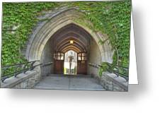 Archway At U Of T Campus Greeting Card
