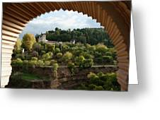 Archway Frame Greeting Card