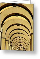 Archways In Florence Greeting Card
