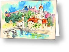 Arcos De Valdevez In Portugal 01 Greeting Card