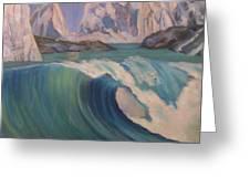 Arctic Ocean Glaciers Greeting Card