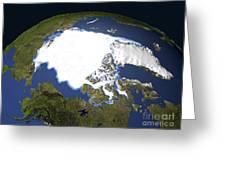 Arctic Sea Ice, 1979 Greeting Card