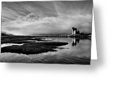 Ardvreck Out Of The Mist Greeting Card