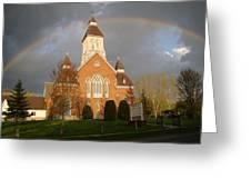 Argyle Presbyterian Church Greeting Card by Mark Haley