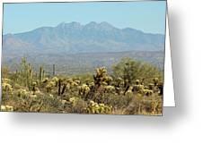 Arizona Scenic V Greeting Card