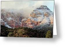 Arizona Snowstorm Greeting Card