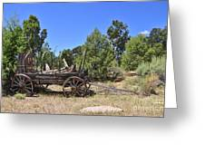 Arizona Wagon Greeting Card