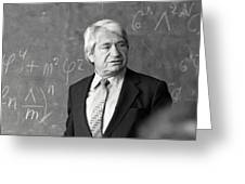 Arkady Migdal, Russian Physicist Greeting Card