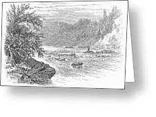 Arkansas: Ouachita River Greeting Card by Granger