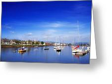 Arklow, River Avoca, County Wicklow Greeting Card
