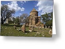 Armenian Church On Adkamar Island Greeting Card