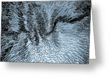 Art Abstract 3d Greeting Card