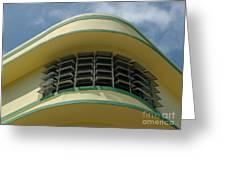 Art Deco Detail Greeting Card