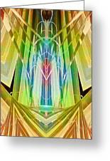 Art Deco Reredos Greeting Card