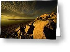 Artic Landscape Greeting Card